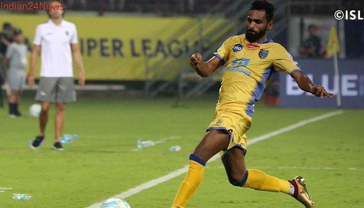 ISL 2017: CK Vineeth guides Kerala Blasters to 1-0 win over NorthEast United FC