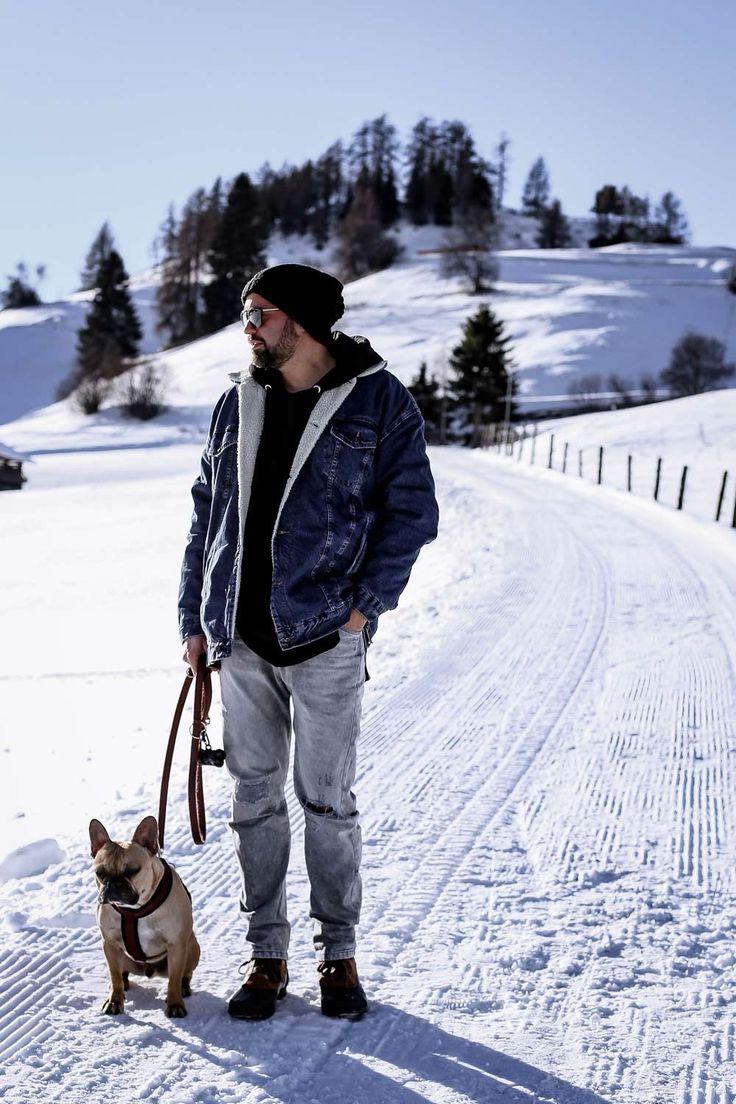 maennerblog, autoblog, fashion, mode, jeansjacke mit fell, graue Jeans, Sorel, Boots, Winteroutfit, beatsanddogs.com