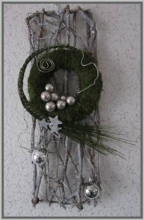 Deurdecoratie voor Kerst  Mooi