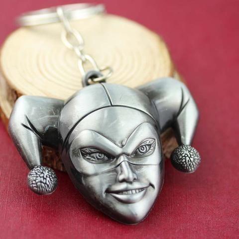 DC ComicsBatman  Harley Quinn harlequin Keychain - The Cynical Clique - 1