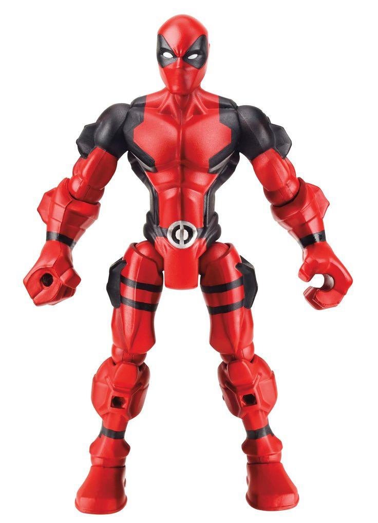 Marvel Mashers Series 3 Deadpool Figure