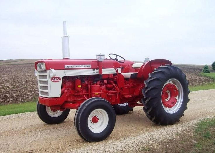 Ih 460 Utility Tractor : Ih utility misc old farm tractors pinterest