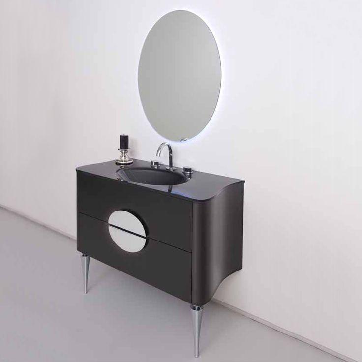 Мебель для ванных комнат Eurolegno Серия Moka Мебель для ванной комнаты Eurolegno Moka Композиция 5. Эко-Душ - Европейская сантехника оптом и в розницу