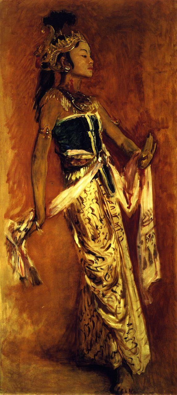 The Athenaeum - A Javanese Dancer (John Singer Sargent - )1889