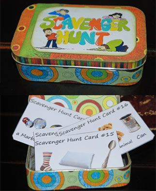 Pirates - #Printable Cards for an indoor Scavenger Hunt