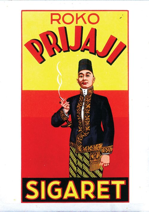 Roko Prijaji  Advertising in the Dutch East-Indies (Nederlands-Indië). A reminder of the Tempo Doeloe.