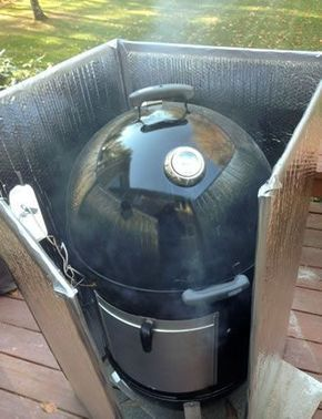 The excellent Weber Smokey Mountain and other bullet shaped smokers can do a great job if you set them up properly. Here's how, including the Minion method.