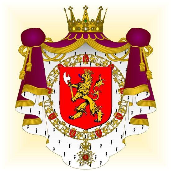 Héraldique européenne... le blog: Norvège