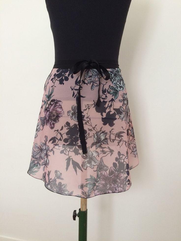 Ballet skirt, Les Petites Jupes de Patricia, Pink Blossom. rose, floral, dusky pink,