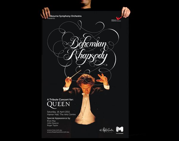 Bohemian Rhapsody by Bobby Haiqalsyah, via BehanceBohemian Rhapsody, Freelance Graphics, Bobby Haiqalsyah, Graphics Design, Typography, Types, Design Studios, Design Blog, Young Design