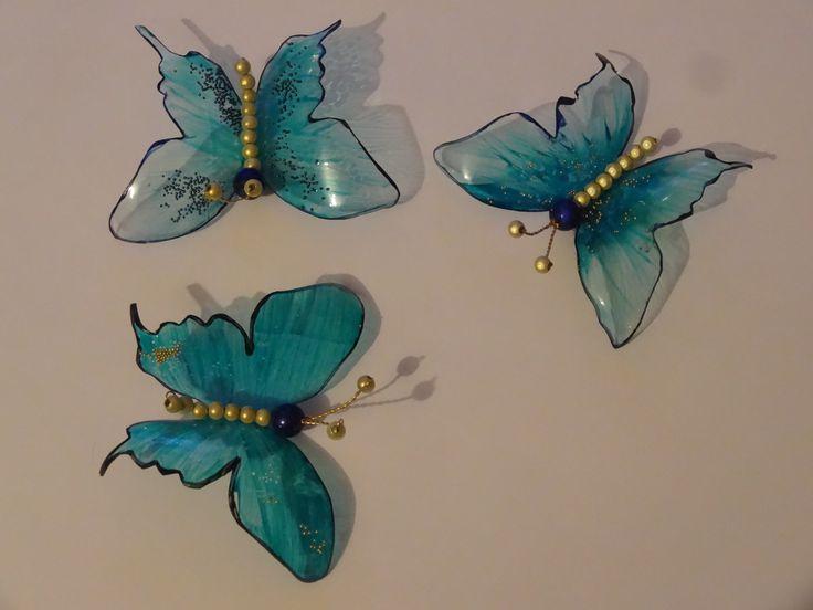 Papillons PET bottle remake