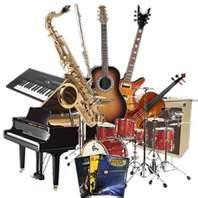musical instruments store