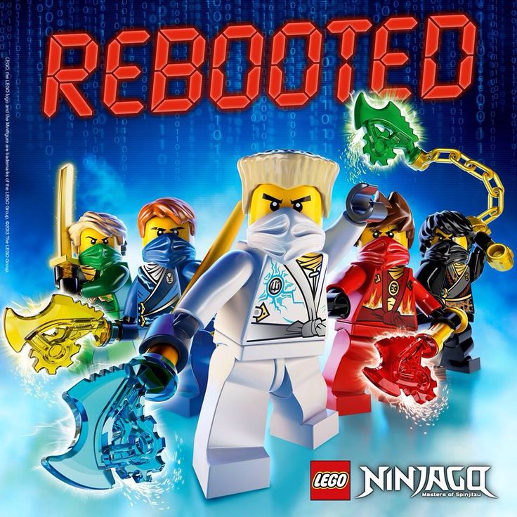 58 Best Lego Ninjago Rebooted Images On Pinterest