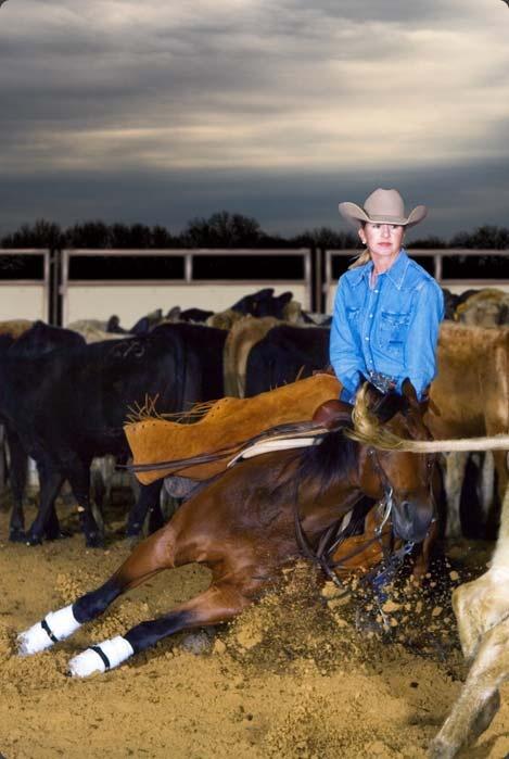 Janet Westfall, Westfall Cutting Horses.                                                                                                                                                                                 More
