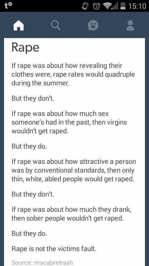 #RapeCulture #NeverAskingForIt
