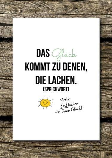 Alter Spruch - in neuem Gewand. :)