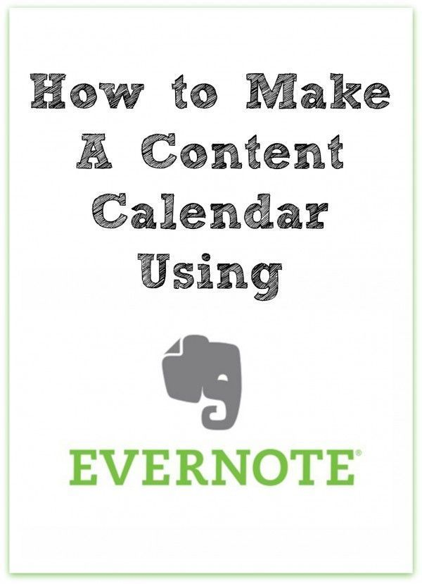 How to Make a Content Calendar Using Evernote | The Noshery - As bloggers we need a way to keep track of all of our upcoming blog posts, social media postings, sponsored posts and more. Creating a content calendar can help you develop a well rounded blog content strategy and keep you at the top of your game! And even better, you can create your content calendar using Evernote. Ready to get your blog content strategy game on? Click through to read more!