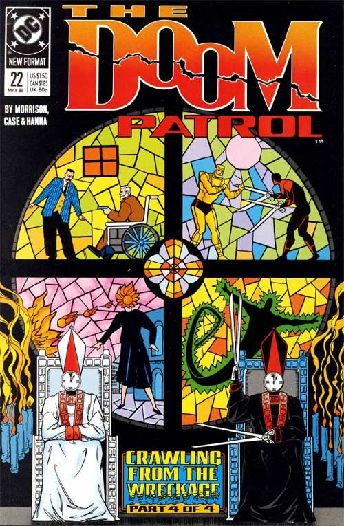 Doom Patrol Vol 2 22, Crawling From The Wreckage, Part 4: The Ossuary, Grant Morrison.