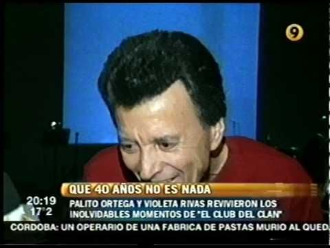 PALITO ORTEGA Conrad Uruguay 2005 con VIOLETA RIVAS  Despeinada Que Suerte