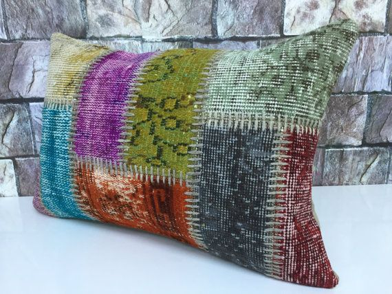 16x24 inches 40x60 cm lumbar cushion case nice by laviaart on Etsy