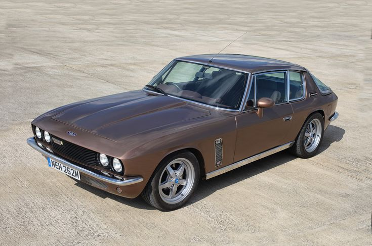 Jensen Interceptor R Supercharged. Definitely as it should have been.