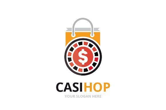 Vector Casino And Shop Logo Shop Logo Professional Logo Design