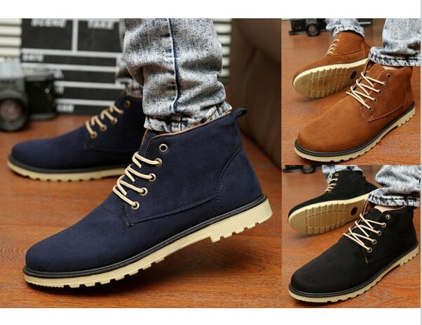 Awesome Winter Fashion Boots New 2016 Men Boots Fashion Warm Cotton Brand ankle boots Shoes men Winter shoe  ... Check more at http://24shopping.ga/fashion/winter-fashion-boots-new-2016-men-boots-fashion-warm-cotton-brand-ankle-boots-shoes-men-winter-shoe/