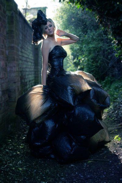 Trash Bag Dress by ~RyanG-Photography on deviantART