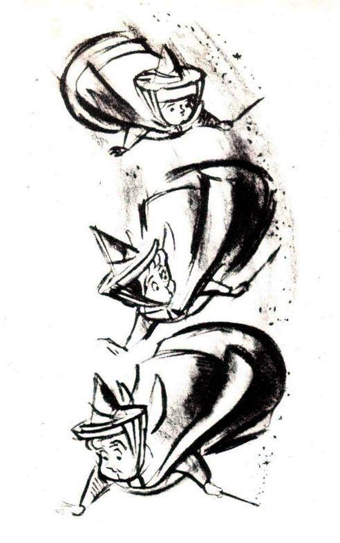 La Belle au Bois Dormant - The Art of Disney