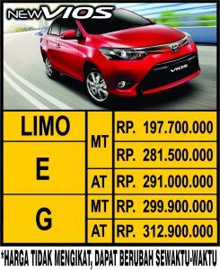 Harga Toyota Vios Semarang