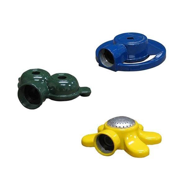 Small Stationary Sprinklers By Quality Valve Sprinkler Blue Square Sprinkler Yellow Flowers
