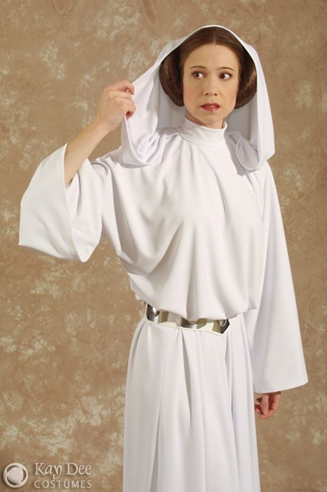 "COSTUMES STAR WARS EPISODE IV: A NEW HOPE PRINCESS LEIA ""CLASSIC"" SENATORIAL GOWN, tutorial."