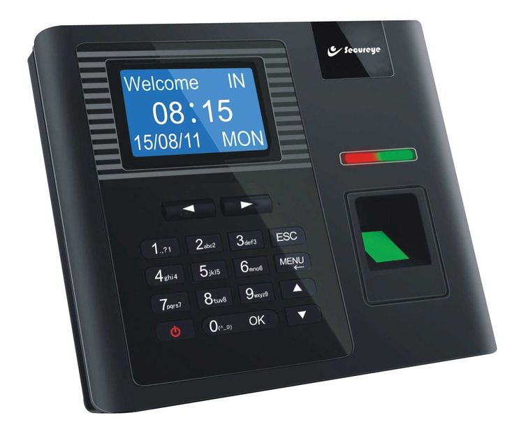 Secureye Stand-alone Biometric Machine,S-B30, frees you from any installation-specific process or extra software.A simple connection of power and it is on.With a 3-inch Blue Display Screen,this hi-tech machine has 600 superlative and rugged DPI optical sensors,fitted in with a 360-degree Auto Adapt Technology,which respond to the oily, wet or even scratched fingers in a split-second.