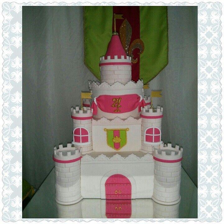 Castlecake de Kake's /castillo /Castlecake/princessparty /pastelcastillo