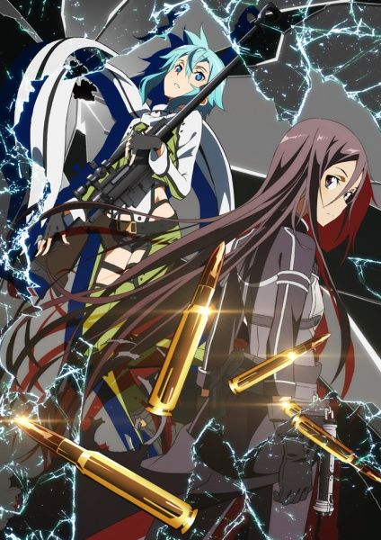 Sword Art Online 2: Phantom Bullet is so good I seriously can't wait for Saturdays next epsiode
