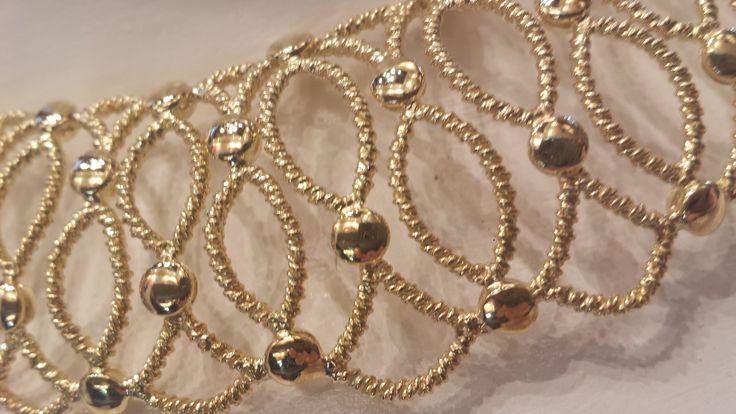 Dettaglio collana in oro 18 kt