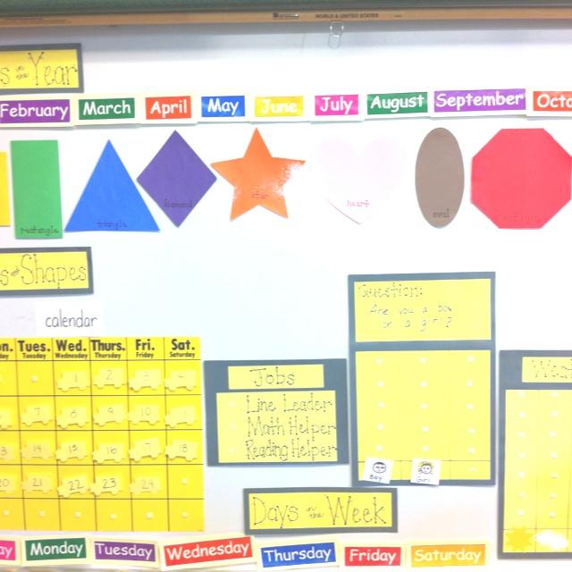 Kindergarten Calendar Interactive : Preschool and calendar on pinterest