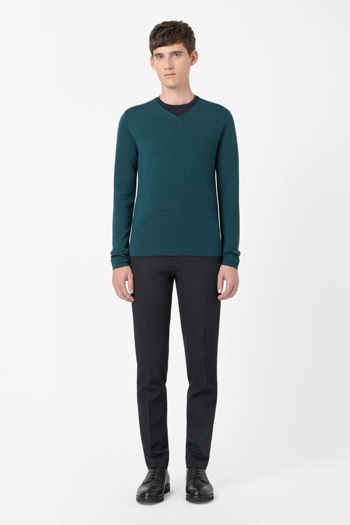COS | Clean-edge merino jumper