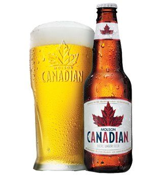 Having A Nice Ice Cold Molson Canadian Beer...Just Finished Painting My Room! It Looks Amazing...Loving It!