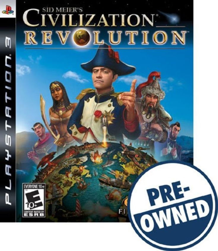 Sid Meier's Civilization Revolution — PRE-Owned - PlayStation 3