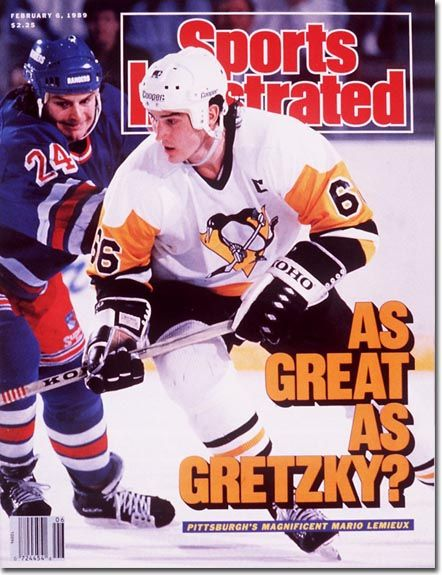 "The correct answer to this question is ""Even better.""  SI Cover:  Mario Lemieux - February 06, 1989"