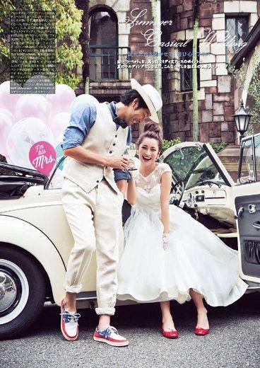 こんな写真が撮りたい!ウェディングの写真撮影は、おしゃれな小物合わせで、アレンジしてみては!? #AneCan #wedding #weddingdress #ウェディング #ウェディングドレス #森絵里香