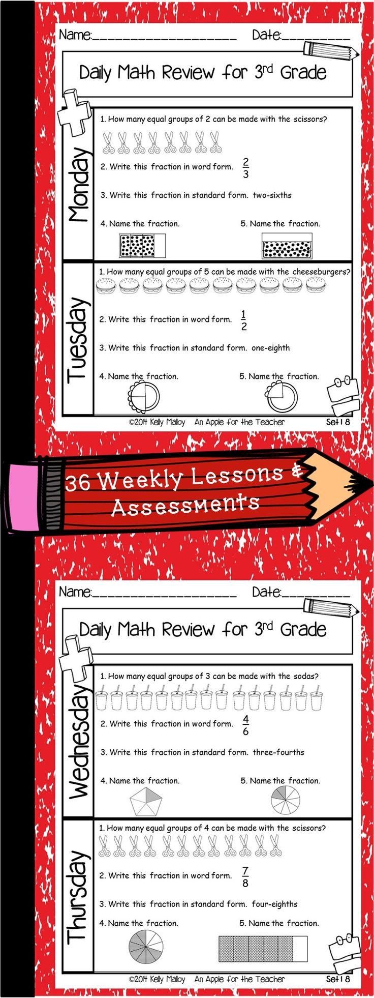 Best 25 daily math ideas on pinterest year 5 maths worksheets daily math review third grade spiral math review falaconquin