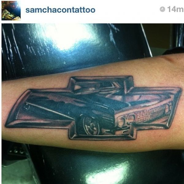 17 best images about chevy tattoo ideas on pinterest for Car motor tattoos