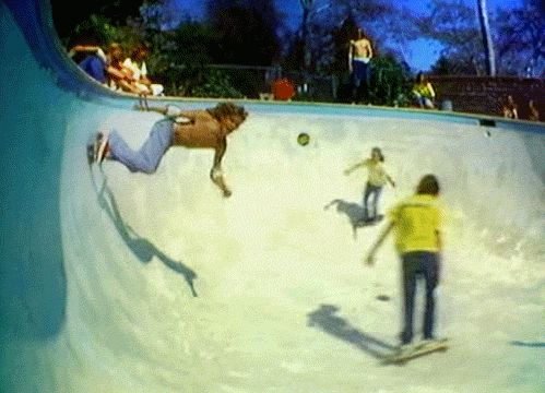 Z-Boys. Re-inventing skate. In 1976.