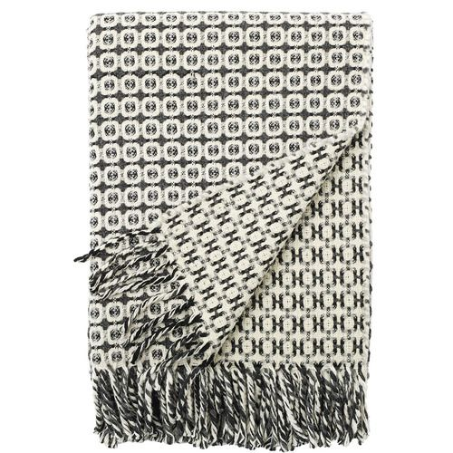 Black and Grey Vintage Throw