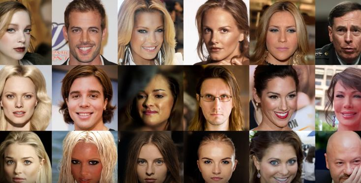 AI generates photorealistic images of fake celebrities - Electronic Products