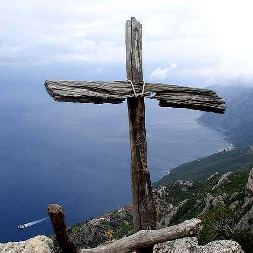 Wooden Cross | Mount Athos, Greece, Wooden Cross