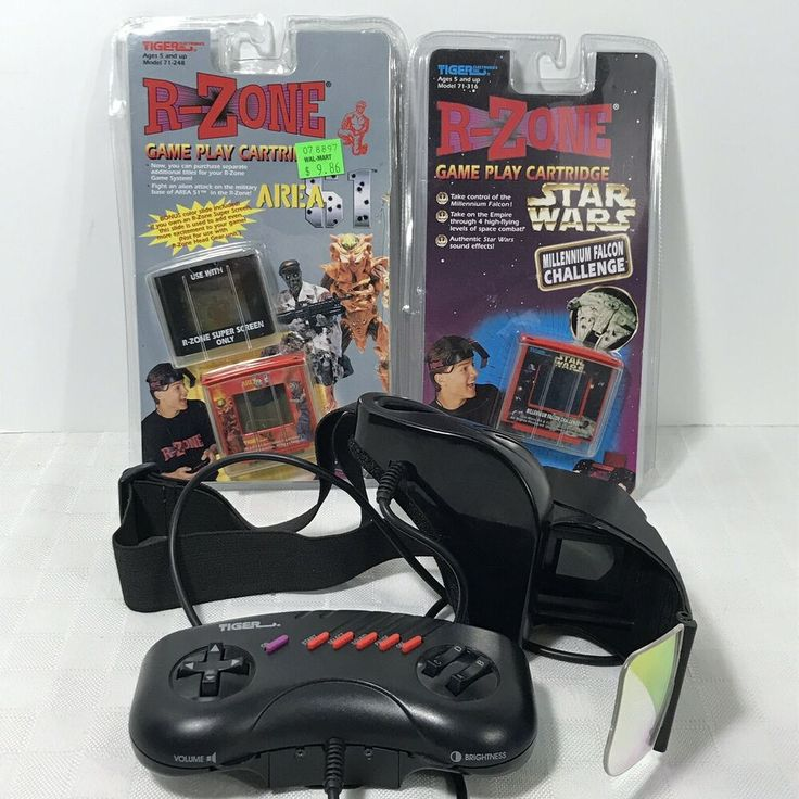 Tiger Electronics R-Zone Portable Game Console Headset and ...