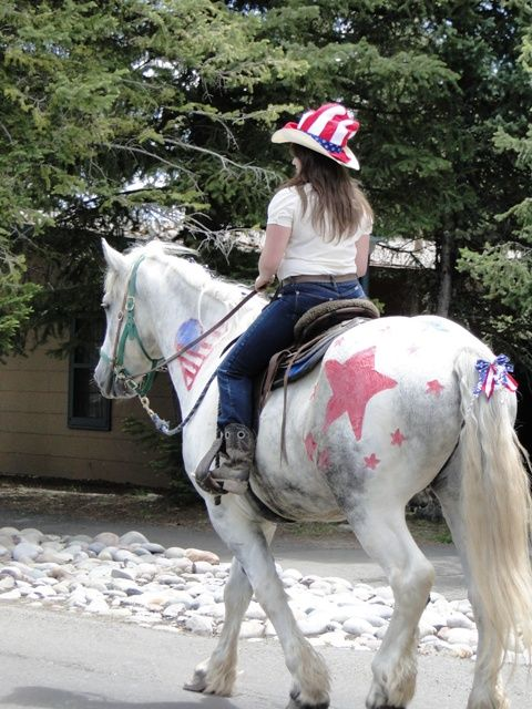 4th of july parade float ideas for kids | Horse in 4th of July Parade